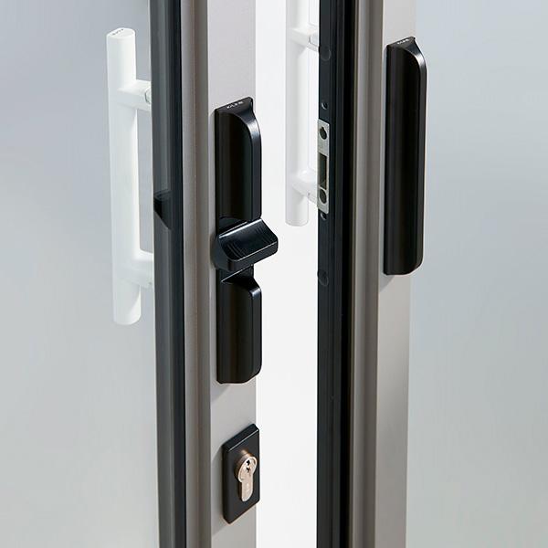 Puxadores exteriores de estilo minimalista